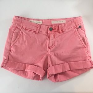 Pilcro and the Letterpress Hyphen Pink Shorts